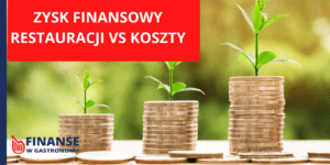 zysk finansowy restauracji vs koszty