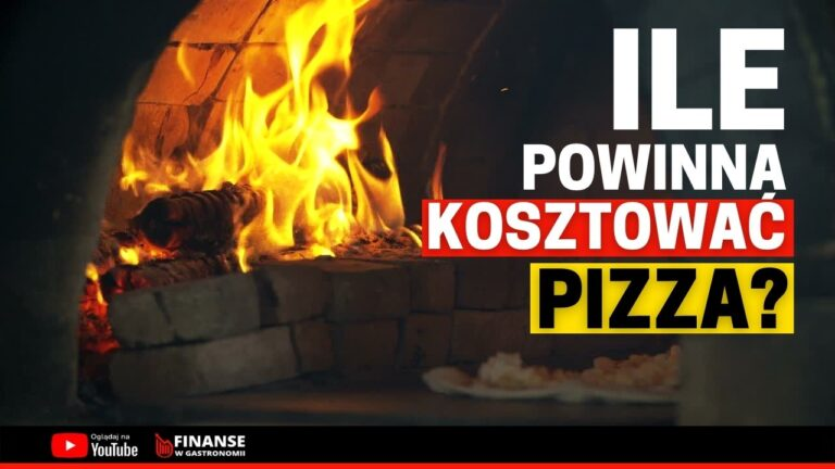 ile powinna kosztować pizza. koszt pizzy.